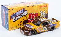 Ken Schrader Signed LE #36 Snickers Cruncher Bar / 2001 Grand Prix 1:24 Scale Die Cast Car (JSA COA) at PristineAuction.com