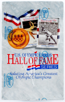 1991 Impel U.S. Olympic Hall of Fame Series Card Box with (36) Packs at PristineAuction.com