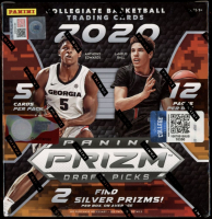 2020-21 Panini Prizm Draft Picks Basketball Mega Box with (12) Packs at PristineAuction.com