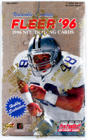 1996 Fleer NFL Football Trading Card Box of (24) Packs at PristineAuction.com