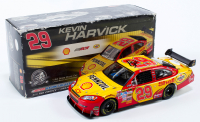Kevin Harvick Signed LE #29 Shell 2008 Impala SS 1:24 Diecast Car (JSA COA) at PristineAuction.com