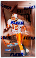 1995 Fleer Metal Inaugural Edition Football Card Box of (36) Packs at PristineAuction.com