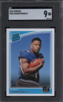 Saquon Barkley 2018 Donruss #306 RR RC (SGC 9) at PristineAuction.com