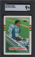 Barry Sanders 1989 Topps Traded #83T RC (SGC 9) at PristineAuction.com