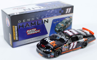 Denny Hamlin Signed LE #11 FedEx Express / Bud Shootout Raced Win Version 2006 Monte Carlo 1:24 Diecast Car (JSA COA) at PristineAuction.com