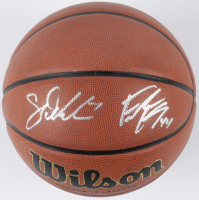 Sam Dekker & Frank Kaminsky Signed NCAA Basketball (JSA COA) at PristineAuction.com