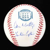 "Don Mattingly Signed Yankee Stadium Commemorative OML Baseball Inscribed ""Yankee Captain"" (JSA COA) at PristineAuction.com"