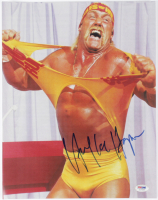 Hulk Hogan Signed WWE 11x14 Photo (PSA COA) at PristineAuction.com