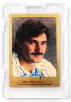 Don Mattingly Signed 1994 Gold Masters of Baseball #1 (JSA COA) at PristineAuction.com