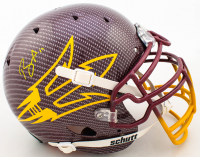 Brandon Aiyuk Signed Arizona State Sun Devils Full-Size Authentic On-Field Hydro-Dipped Helmet (Beckett COA) at PristineAuction.com