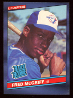 Fred McGriff 1986 Donruss #28 RC at PristineAuction.com