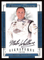 Mike Wallace 2017 Panini National Treasures Signatures #11 at PristineAuction.com