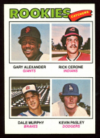 Gary Alexander RC / Rick Cerone RC / Dale Murphy RC / Kevin Pasley RC 1977 Topps #476 Rookie Catchers at PristineAuction.com