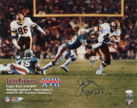 "John Riggins Signed Redskins 16x20 Photo Inscribed ""4th and 1"" (JSA COA) at PristineAuction.com"