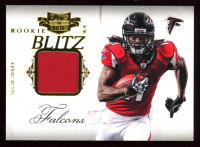 Julio Jones 2011 Panini Plates and Patches Rookie Blitz Materials at PristineAuction.com
