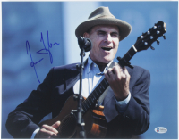 James Taylor Signed 11x14 Photo (Beckett COA) at PristineAuction.com