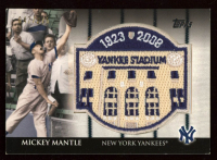 Mickey Mantle 2008 Topps All-Star FanFest Patch #2 at PristineAuction.com