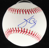 Julio Urias Signed OML Baseball (JSA COA) at PristineAuction.com