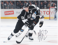 Dustin Brown Signed Kings 11x14 Photo (Beckett COA) at PristineAuction.com
