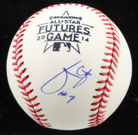 Julio Urias Signed 2014 All-Star Futures Games Baseball (PSA COA) at PristineAuction.com