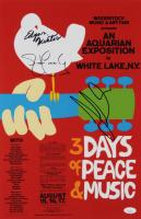"Edgar Winter, Jorma Koukonen & Jack Casady Signed ""Woodstock"" 12x18 Photo (JSA COA) at PristineAuction.com"