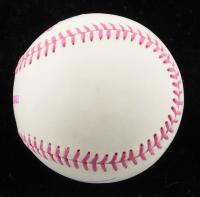 JP Crawford Signed OML Breast Cancer Awareness Logo Baseball (JSA Hologram) at PristineAuction.com