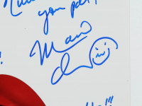 """Charles Martinet Signed """"Super Mario"""" 12x18 Photo With Multiple Inscriptions (JSA COA) at PristineAuction.com"""