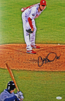 Cole Hamels Signed Phillies 12x18 Photo (JSA COA) at PristineAuction.com