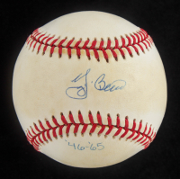 Yogi Berra Signed LE OAL Baseball (UDA Hologram) at PristineAuction.com