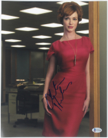 "Christina Hendricks Signed ""Mad Men"" 11x14 Photo (Beckett COA) at PristineAuction.com"