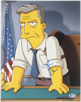 "Jon Hamm Signed ""The Simpsons"" 11x14 Photo (Beckett COA) at PristineAuction.com"
