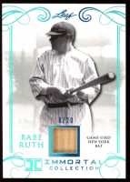 Babe Ruth 2017 Leaf Immortal Collection New York Bat #YB21 at PristineAuction.com