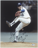 """Gaylord Perry Signed Mariners 11x14 Photo Inscribed """"May 6th 300th"""" (Beckett COA) at PristineAuction.com"""