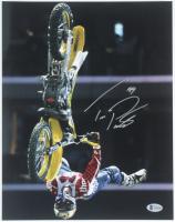 Travis Pastrana Signed 11x14 Photo (Beckett COA) at PristineAuction.com