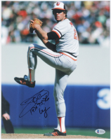 """Jim Palmer Signed Orioles 11x14 Photo Inscribed """"1975, 76, 76 Cy"""" (Beckett COA) at PristineAuction.com"""