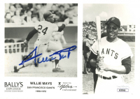 Willie Mays Signed Giants 5x7 Photo (JSA COA) at PristineAuction.com