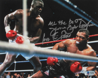 """James """"Buster"""" Douglas Signed 8x10 Photo Inscribed """"Love"""", """"All The Best"""" & """"Peace"""" (Beckett COA) at PristineAuction.com"""