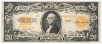 1922 $20 Twenty-Dollar U.S. Gold Certificate Large-Size Bank Note at PristineAuction.com