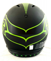 Russell Wilson Signed Seahawks Full-Size Authentic On-Field Eclipse Alternate Speed Helmet (Wilson Hologram) at PristineAuction.com