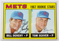 1967 Topps #581 Rookie Stars Bill Denehy RC / Tom Seaver RC at PristineAuction.com
