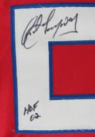 """Rod Langway Signed Jersey Inscribed """"HOF 02"""" (JSA COA) at PristineAuction.com"""
