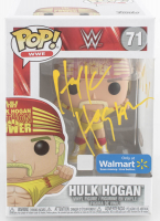 "Hulk Hogan Signed ""WWE"" #71 Funko Pop! Vinyl Figure Inscribed ""WM II"" (PSA Hologram) at PristineAuction.com"