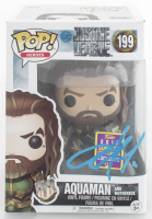 "Jason Momoa Signed ""Justice League"" #199 Aquaman With Motherbox Funko Pop! Vinyl Figure (PSA Hologram) at PristineAuction.com"