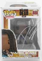 "Danai Gurira Signed ""The Walking Dead"" #888 Michonne Funko Pop! Vinyl Figure (JSA Hologram) at PristineAuction.com"