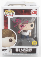 "Jeremy Ray Taylor Signed ""IT"" #538 Ben Hanscom Funko Pop! Vinyl Figure (Beckett Hologram) at PristineAuction.com"