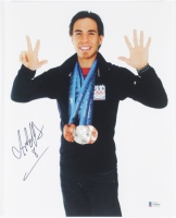 "Apolo Ohno Signed Team USA 11x14 Photo Inscribed ""8"" (Beckett COA) at PristineAuction.com"