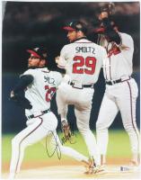 John Smoltz Signed Braves 11x14 Photo (Beckett COA) at PristineAuction.com