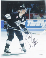 Luc Robitaille Signed Kings 11x14 Photo (Beckett COA) at PristineAuction.com