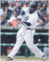 Prince Fielder Signed Tigers 11x14 Photo (Beckett COA) at PristineAuction.com