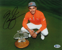 Rickie Fowler Signed 8x10 Photo (Beckett Hologram) at PristineAuction.com